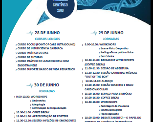 VI Jornadas do Internato Médico do Algarve (JIMA) – 28, 29 e 30 Junho