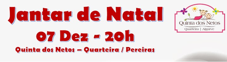 JANTAR DE NATAL – 07 DEZEMBRO