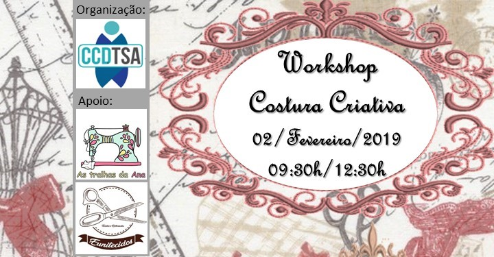 Workshop Costura Criativa (Nível 1)